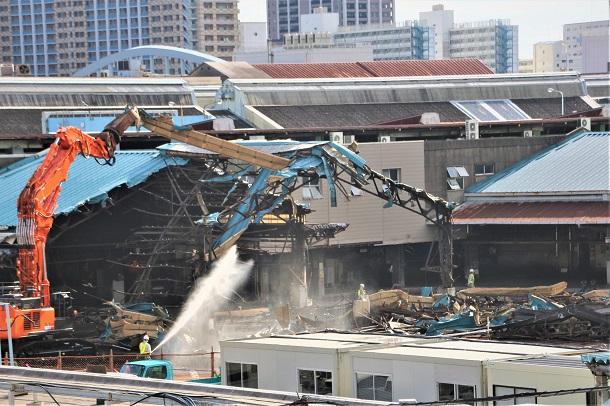 解体が進む築地市場/2018年11月20日