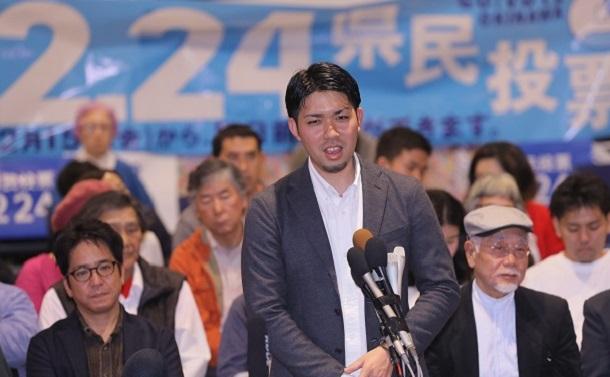 [125]手作り感満載の「県民投票の会」