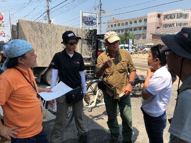 写真・図版 : 西日本豪雨災害では米国国際開発庁(USAID/OFDA)、加盟団体(PWJ)と連携して調査を実施@ジャパン・プラットフォーム