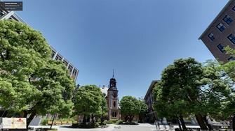 写真・図版 : 筆者が留学した京都の同志社大学=同志社大学HPより