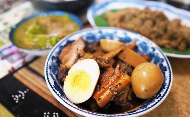 カンボジア流豚の角煮 内戦を生き抜いた味