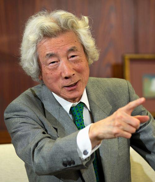 写真・図版 : 小泉純一郎元首相。原発ゼロへの思いを語る=2018年12月12日、東京都品川区