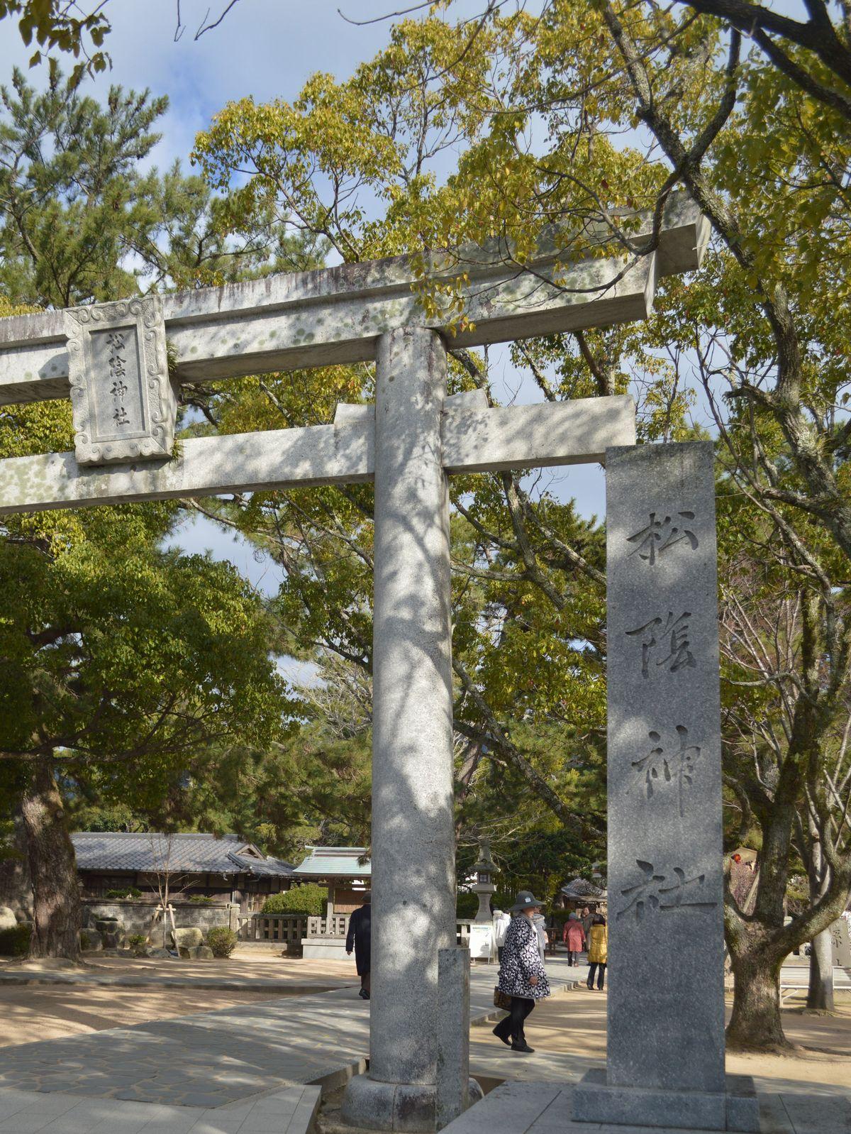 写真・図版 : 松陰神社=1月29日、山口県萩市椿東