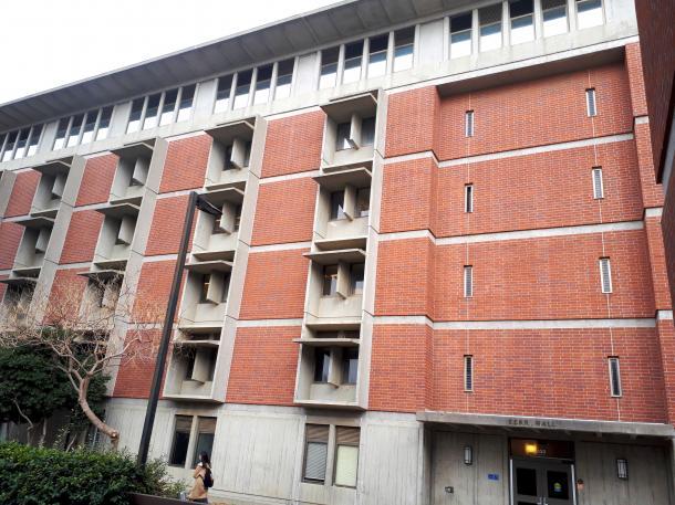 シンディ・シェンの研究室があるカリフォルニア大学デービス校の校舎