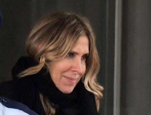 写真・図版 : ゴーン前会長の妻キャロルさん= 2019年3月6日