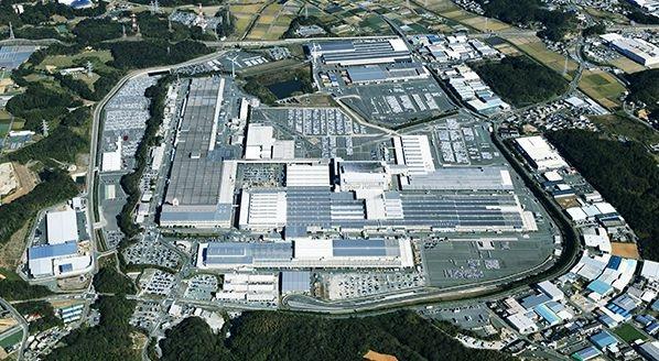 写真・図版 : スズキの主力・湖西工場の全景=同社HPより