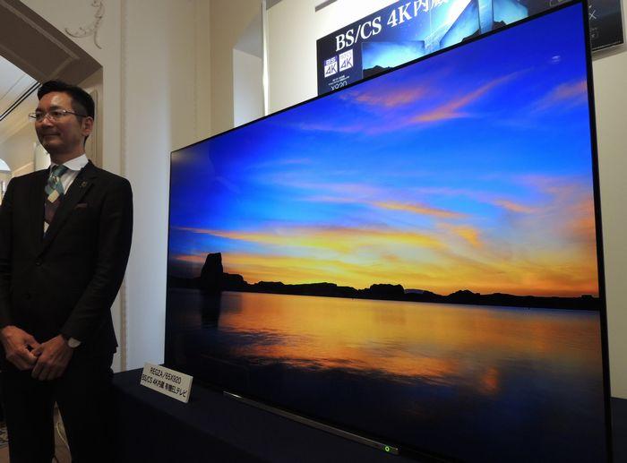 写真・図版 : 東芝映像ソリューションの4Kテレビ