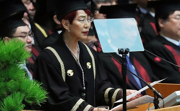 写真・図版 : 東大入学式の祝辞が話題になった上野千鶴子・名誉教授