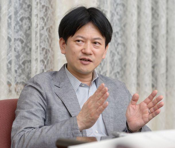 写真・図版 : 東京大学法学部教授の石川健治さん