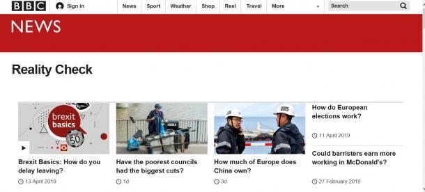 写真・図版 : BBCの「リアリティーチェック」は、取り上げてほしいトピックを常時募集している(BBCのウェブサイトより)