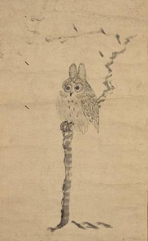 「木兎図」