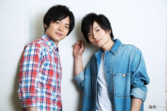写真・図版 : 松本慎也(右)と関戸博一=岩田えり撮影