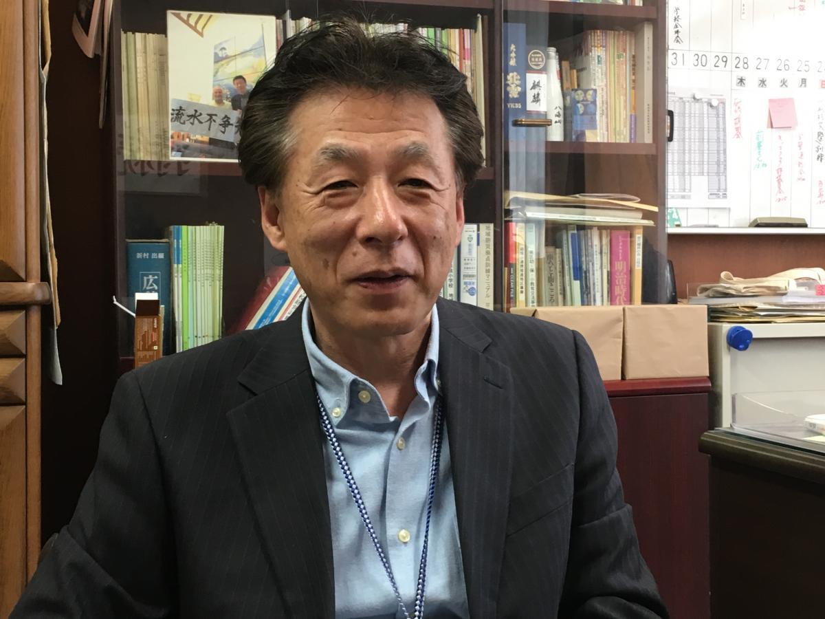 『カラフルな学校づくり』の著者、住田昌治さん