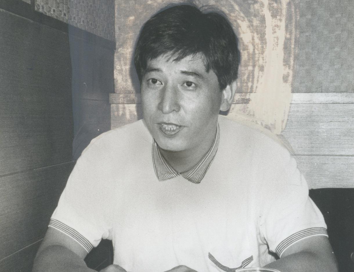 写真・図版 : 太田出版の編集者だった高瀬幸途さん=1986年