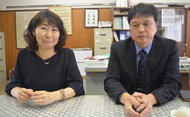 写真・図版 : 福本靖さん〔右)と今関明子さん