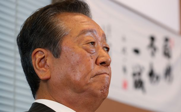 小沢一郎「憲法や民法の原則論は誰にも負けない」