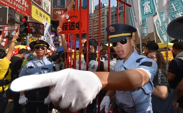 天安門事件から30年の香港