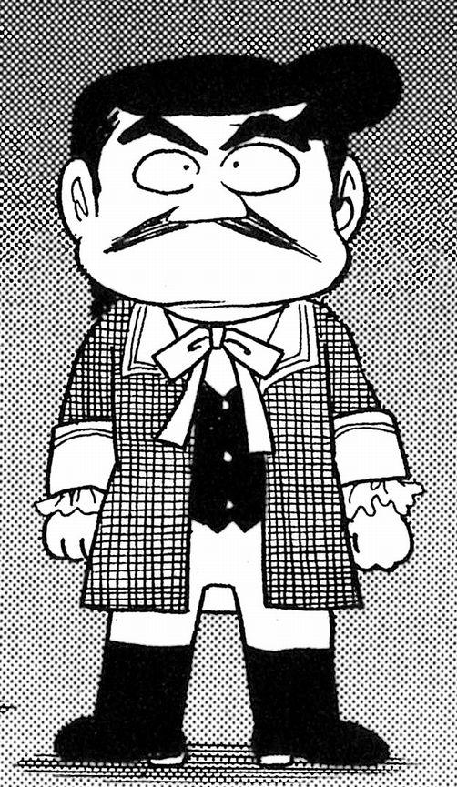 写真・図版 : 漫画「風雲児たち」に登場する大黒屋光太夫 ©みなもと太郎