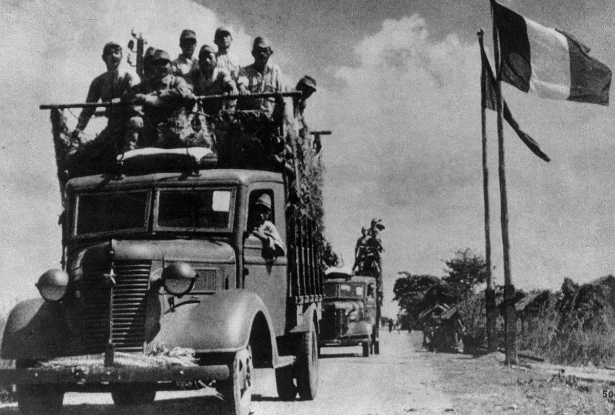 1941年12月8日、日本軍はタイに平和進駐した