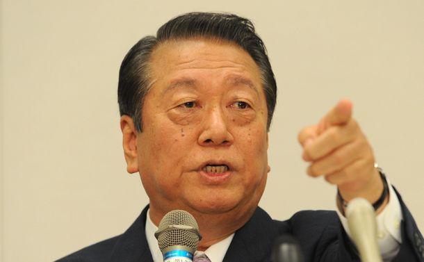 小沢一郎「政権交代が『政治とカネ』を解決する」