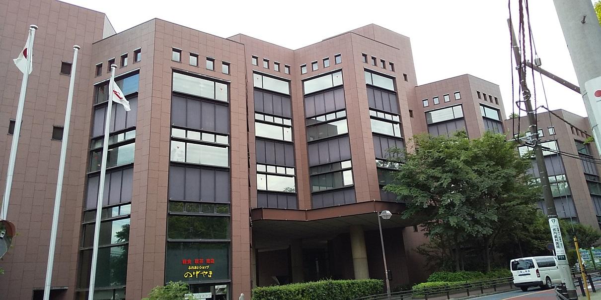 私の地元、横浜市立中央図書館