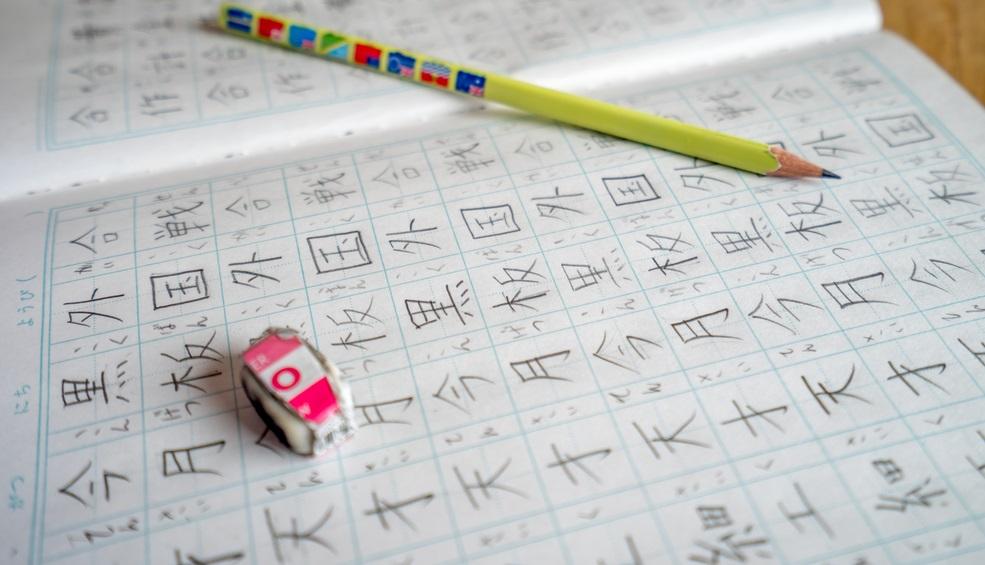 写真・図版 : 日本人は子供のころから少しずつ漢字を覚えてきたが…… Photo: ikuyan/Shutterstock.com