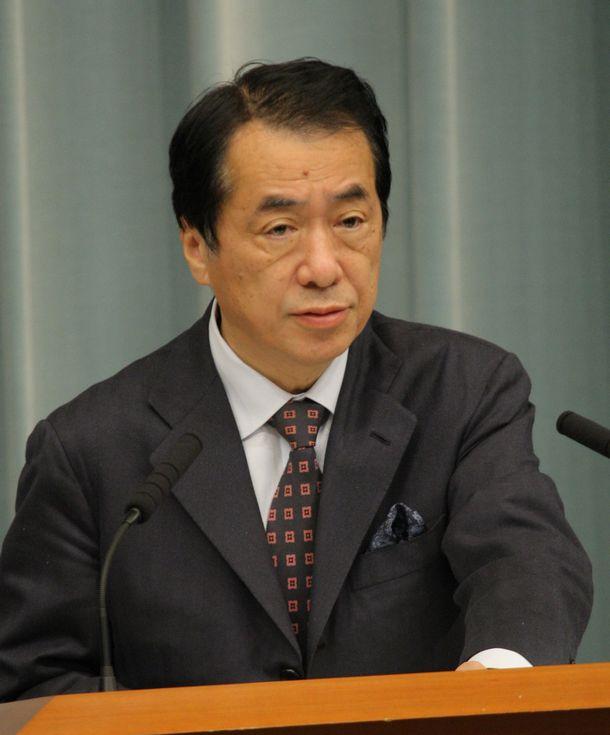 写真・図版 : 菅直人財務相=2010年1月8日、首相官邸、