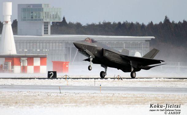 写真・図版 : 三沢沖に墜落したのと同型の航空自衛隊F35A=航空自衛隊HPから