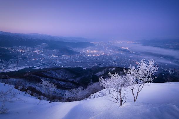 写真・図版 : 皆が眠る故郷の山、深夜の登頂で「二人」の木々が語り合っていた