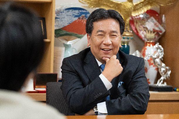 写真・図版 : 枝野幸男さん=2019年6月28日、議員会館