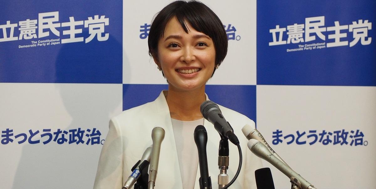 参院選に立候補を表明する市井紗耶香氏