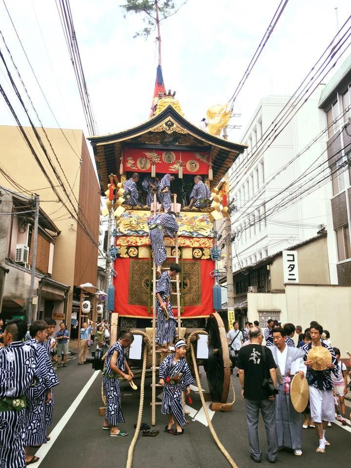 写真・図版 : 祇園祭の風景=筆者提供
