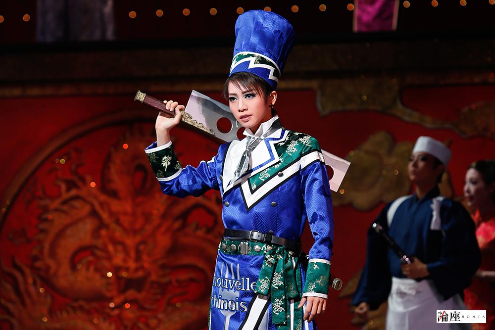 写真・図版 : 『GOD OF STARS-食聖-』公演から、リー・ロンロン役の礼真琴=岸隆子 撮影