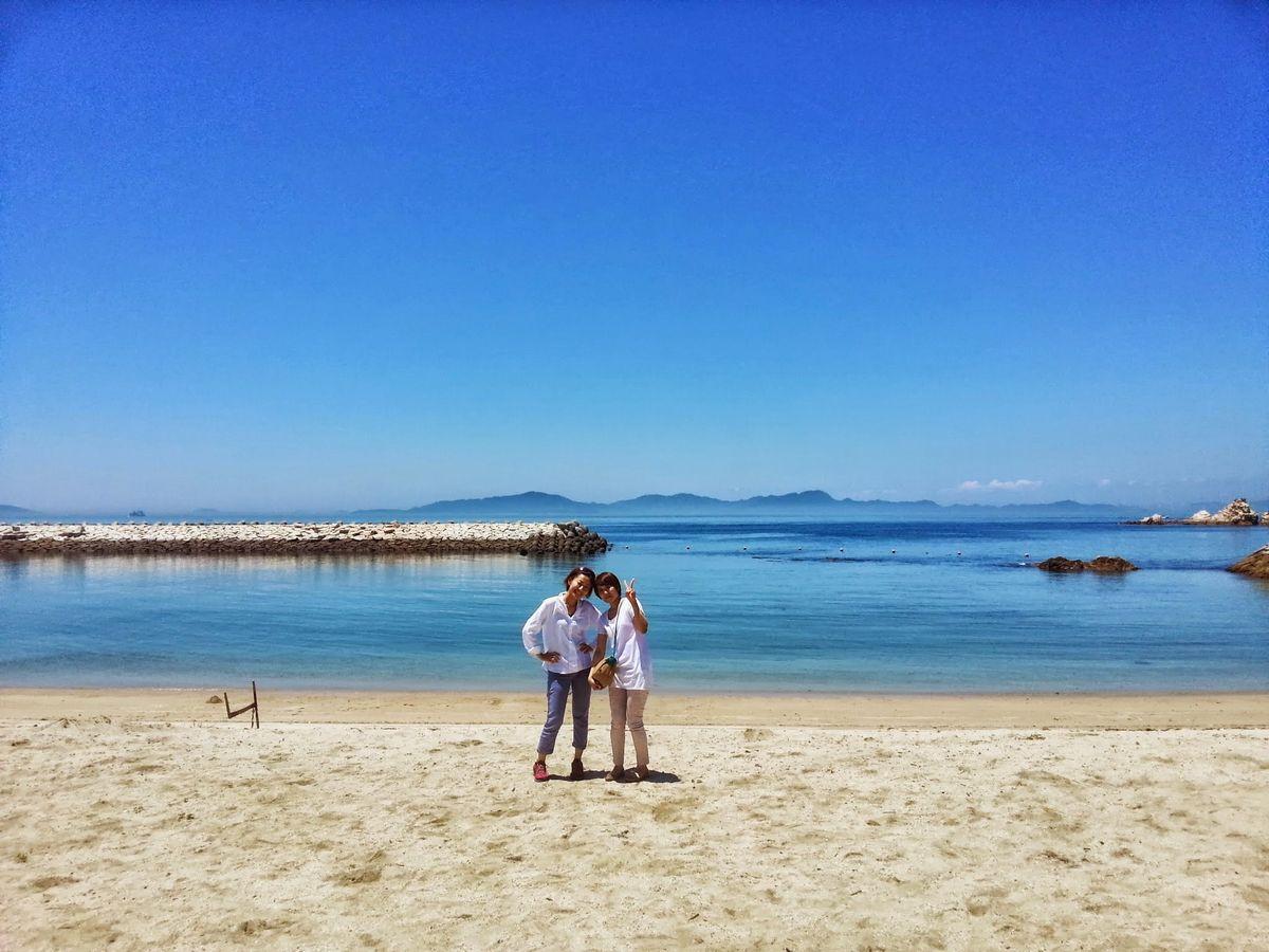 写真・図版 : 瀬戸内の海=井上友美さん提供
