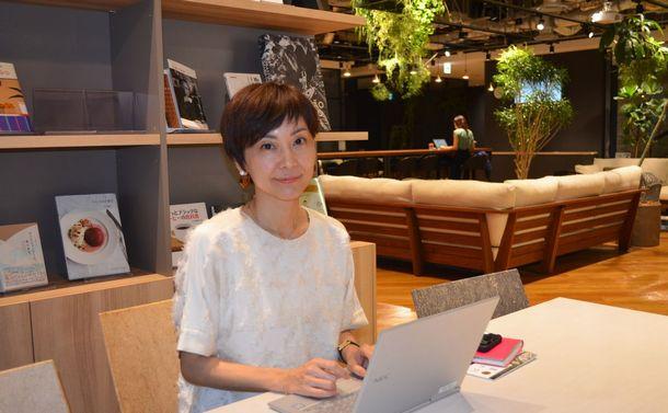 写真・図版 : 三菱地所の井上友美さん