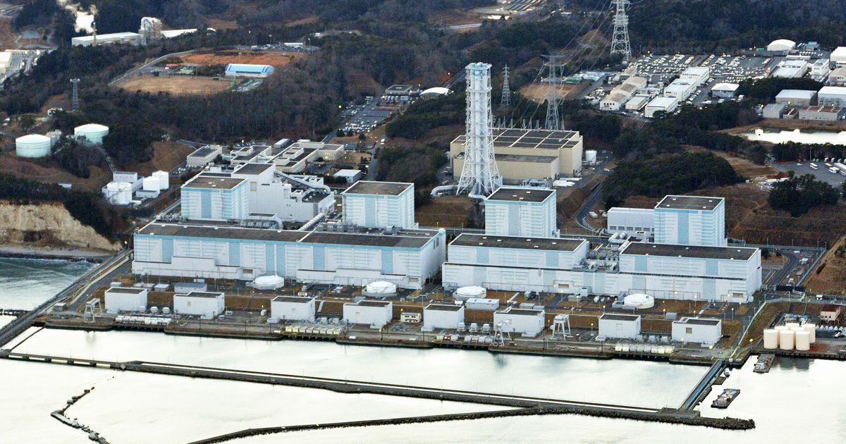 写真・図版 : 4基すべての廃炉が決まった福島第2原発=福留庸友撮影