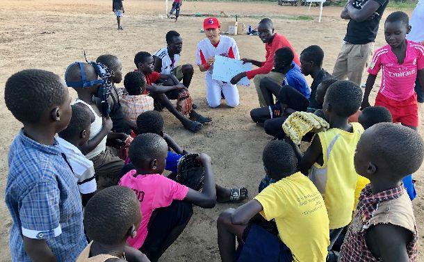 南スーダン野球初のキャプテン。その名はジオン