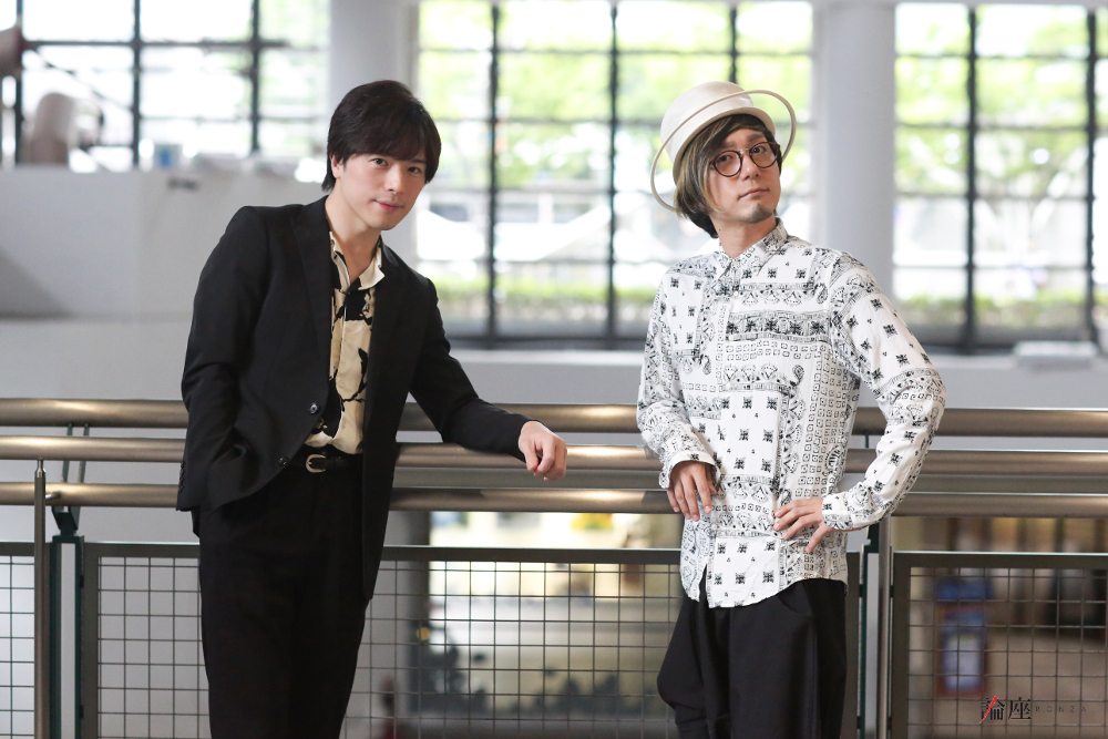 写真・図版 : 大井健(左)&中村匡宏=水本克美〈桑島写真スタジオ〉撮影