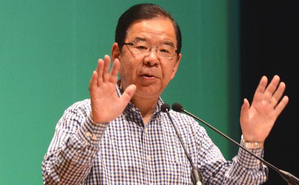 写真・図版 : 共産党の志位和夫委員長