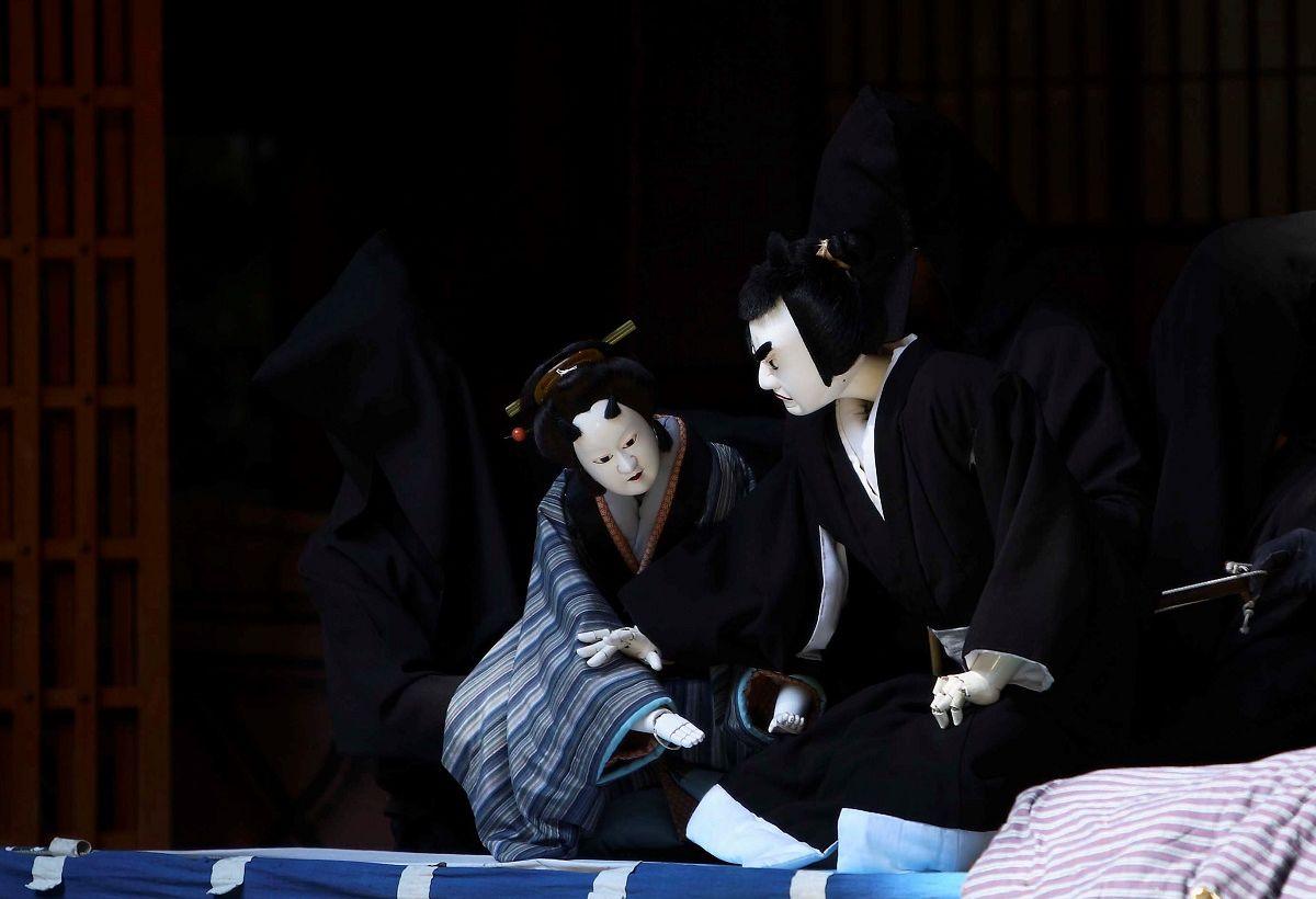 写真・図版 : 阿波人形浄瑠璃の舞台=那賀郡那賀町、徳島県立阿波十郎兵衛屋敷提供
