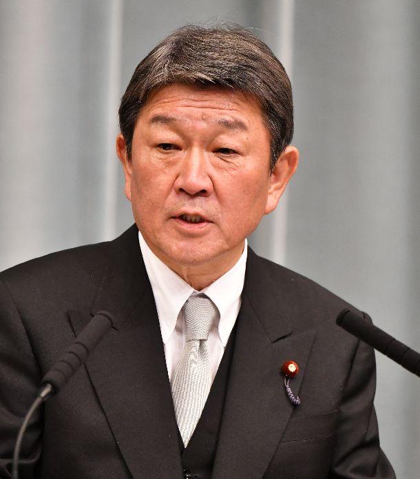 写真・図版 : 茂木敏允外相=2019年9月11日、首相官邸