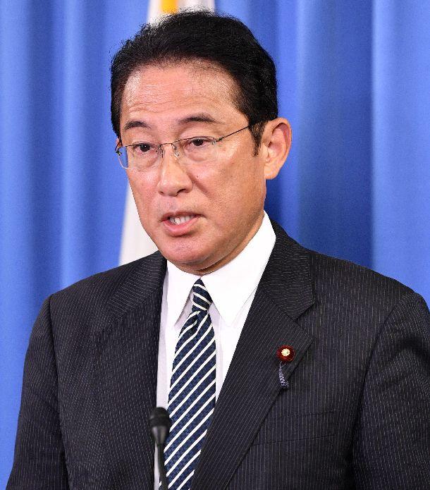 写真・図版 : 岸田文雄・自民党政調会長=2019年9月11日、東京・永田町の党本部、