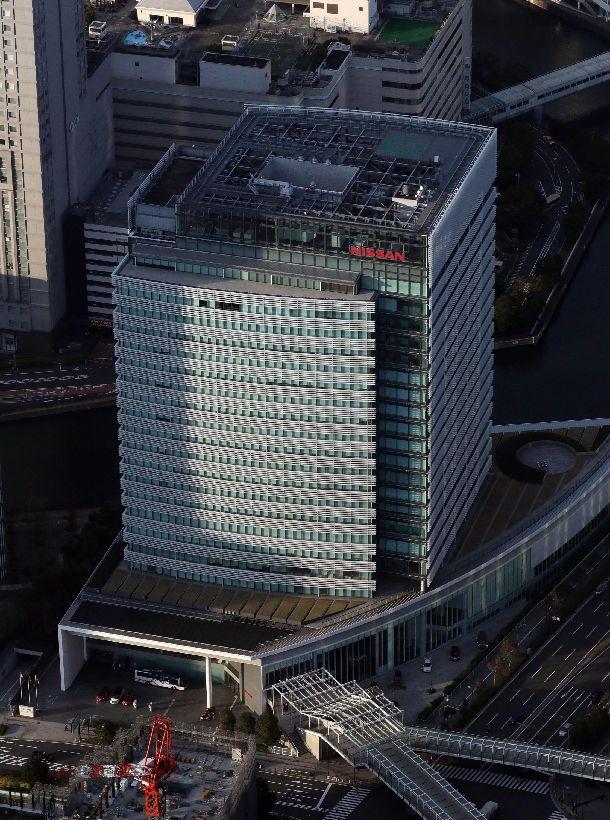 写真・図版 : 日産自動車のグローバル本社=横浜市