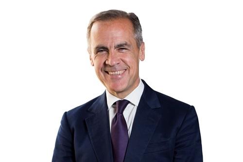 写真・図版 : イングランド銀行のマーク・カーニー総裁=同行HPより