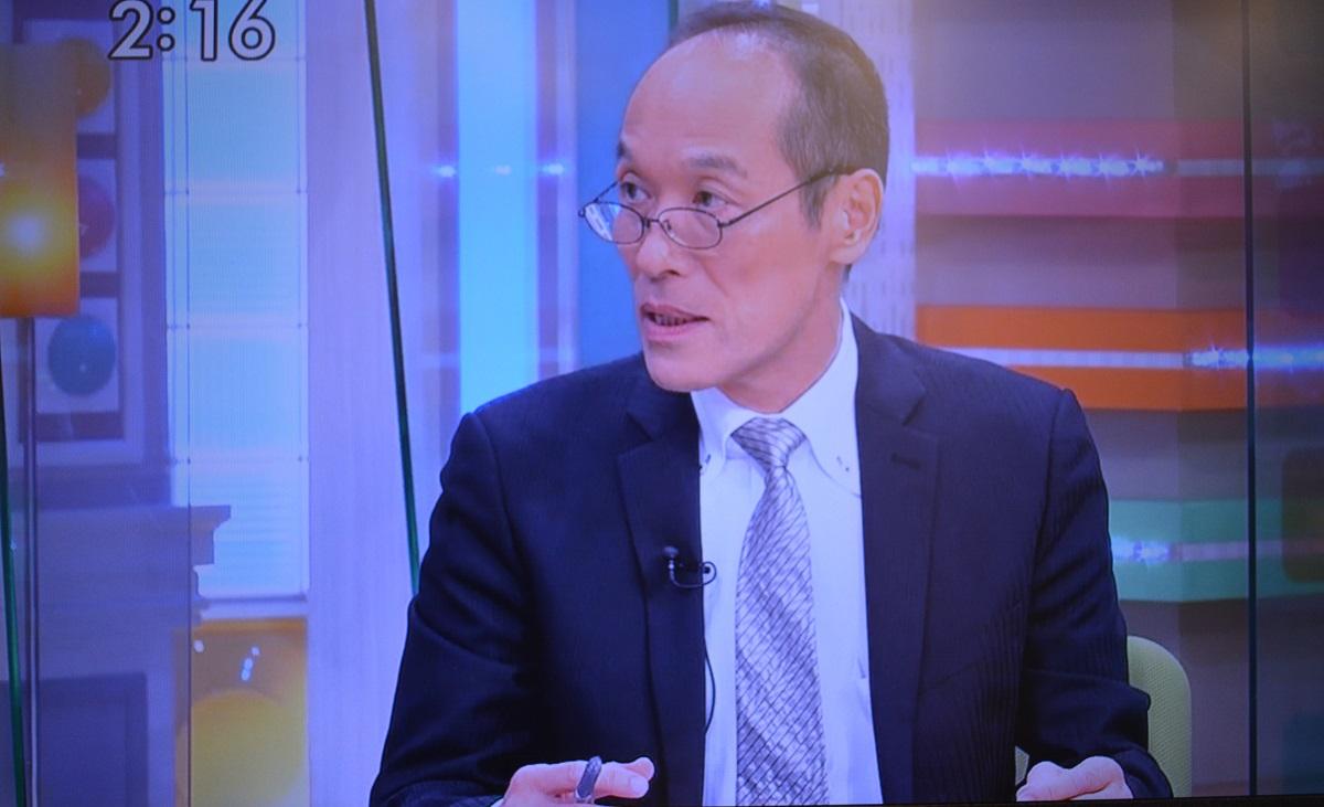 「ゴゴスマ」(TBS系)で謝罪した東国原英夫氏=同番組から