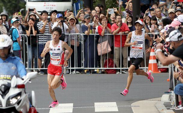 マラソンMGC優勝者の数字に見る五輪への突破口