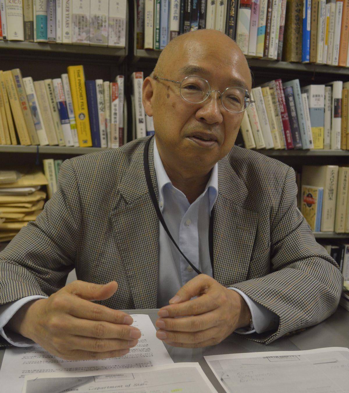 写真・図版 : 信夫隆司・日本大学教授(日米関係史)
