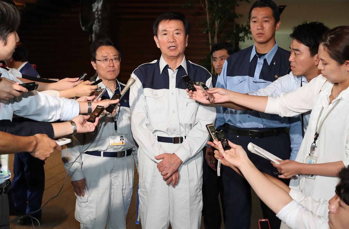 写真・図版 : 台風15号対応で初動の遅れが指摘される森田健作・千葉県知事