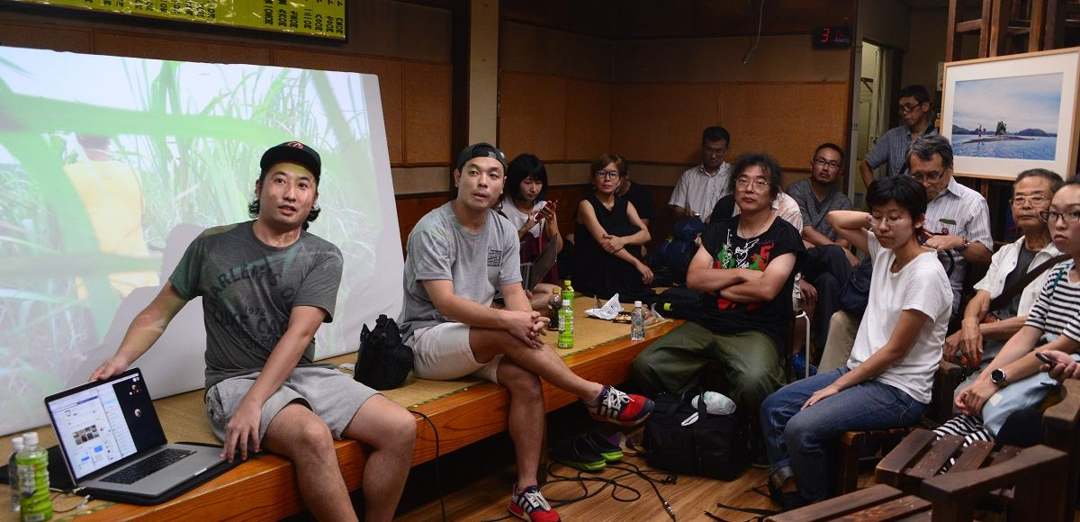 写真・図版 : 対話のために名古屋市内の商店街にアーティストが開設したスペース「サナトリウム」=2019年8月25日