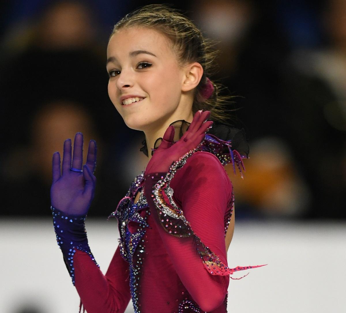 ロシアのアンナ・シェルバコワ
